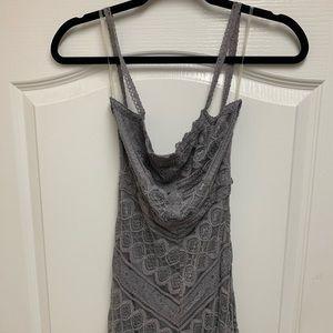 Lulu's lace maxi dress
